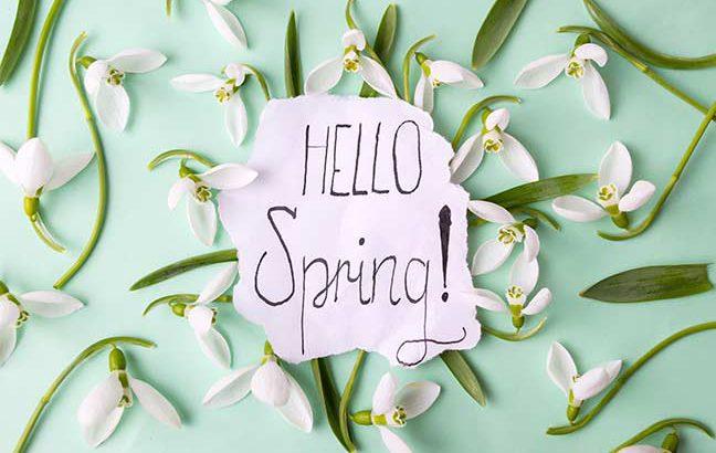 início primavera