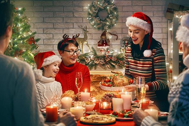 decoração de casa para natal